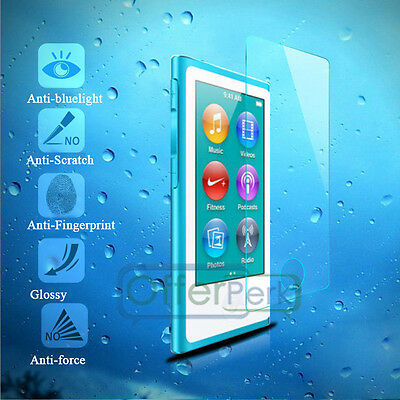 Screen Protect Ultra-thin Anti-scratch Glass Film for iPod Nano 7th Generation