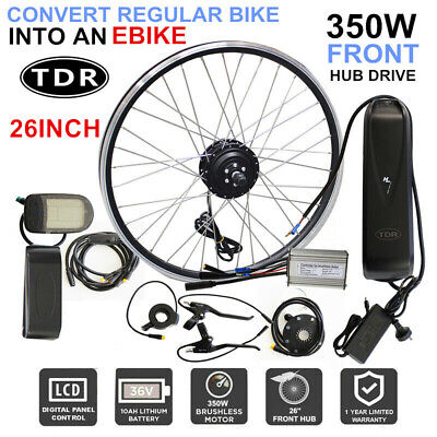 1000W Electric Bike Bicycle Conversion Kit eBike Hub Motor + 48V Lithium Battery