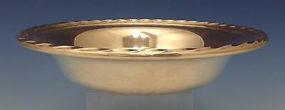"Silver Flutes by Towle Sterling Silver Candy Dish / Nut Dish 7"" Diameter (#0622)"