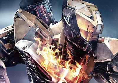 Destiny The Taken King Titan Wall Poster A0 Size  Free P&p Can Be Personalised