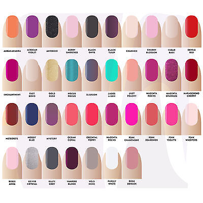 Gellux Nail Colours Polish All Colours Stocked Choose any colour by Salon System