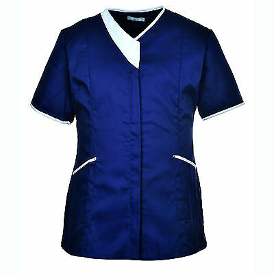 Tunic Modern UNIFORM NURSE DENTAL HAIRDRESSER  RECEPTION HOMECARE BEAUTY  LW13
