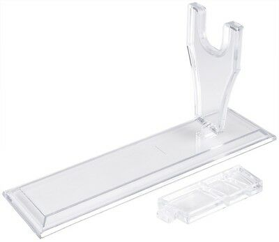 Plastic Clear Model Showing Holding Display Stand For Airsoft Pistol (MC-0018)