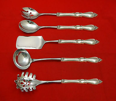 Queen Elizabeth I by Towle Sterling Hostess Set 5pc HHWS  Custom Made