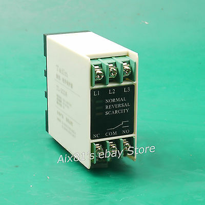Phase Failure Loss Sequence Relay 3 Phase Electronic Protection 220V-380V