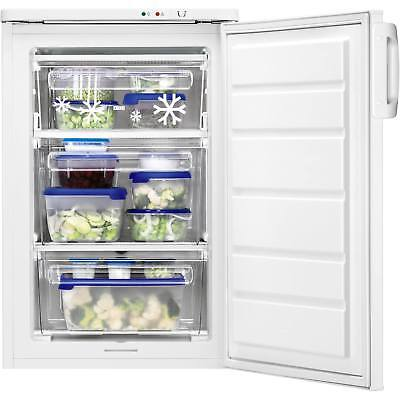 Zanussi ZFT11105WA Freestanding 91 Litres A Rated 2 Drawers Freezer in White