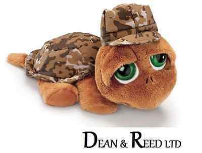 Lil/Li'l Peepers Small 14.2cm Shelby Camouflage Turtle Soft Toy by Russ Berrie