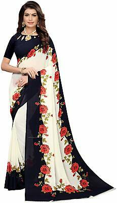 Bollywood Indian Wedding Ethnic Designer Wedding Saree Sari w Blouse SAREE EDH