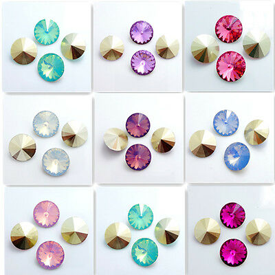 Wholesale 20PCS Resin  Rhinestones Rivoli Beads 16mm hot