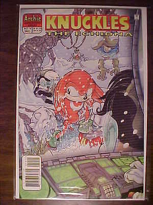 KNUCKLES The Echidna Comic Book #19  FORBIDDEN ZONE 1 of 3 Bagged & Boarded MINT