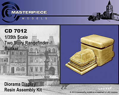 CD 7012 1/35th scale Two story rangefinder bunker Resin assembly kit