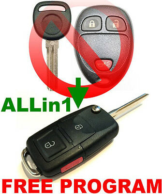 KEY /& REMOTE COMBINED ALLin1 FLIP FOB FOR ACURA TSX CHIP OUCG8D387HA IMMOBILIZER