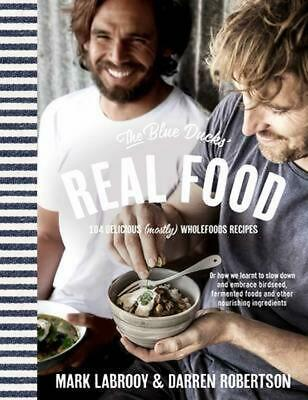 The Blue Ducks' Real Food by Darren Robertson Paperback Book Free Shipping!
