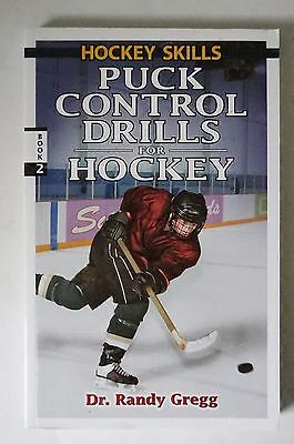 Two / 2 Copies Puck Control Drills For Hockey By Dr. Randy Gregg Trainer Coach