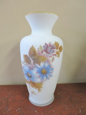 Vintage Cased Satin Glass Vase
