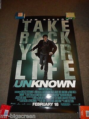 Unknown - Original Ss Advance Promo Poster- Signed By Jaume Collet-Serra - 2011
