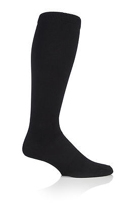Quality Compression DVT Flight / Travel Socks  9-11 uk 43-45 eur Black Sockshop