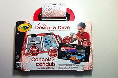 New Crayola - Virtual Design and Drive Kids Toy