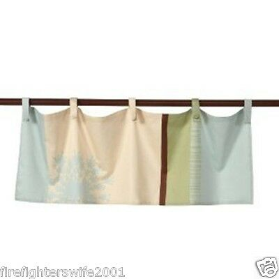 Summer Infant Organic FLOATING VINE PATCH Valance 45x15 NEW