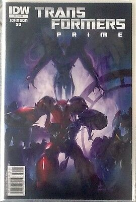 TRANSFORMERS PRIME Complete Set 1-4 IDW Comics 2011
