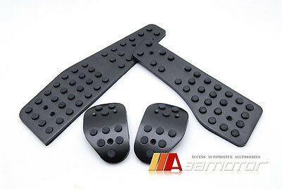 Manual Black MT Pedal Set for Porsche 911 996 Boxster Carrera Cayman S RS Turbo