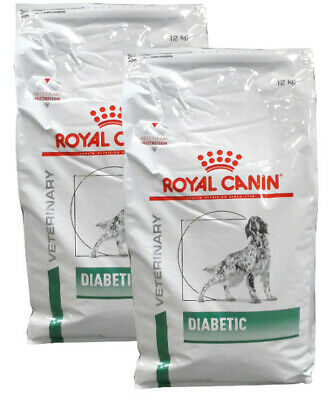 2x12kg Royal Canin Diabetic DS37 Hundefutter Veterinary Diet