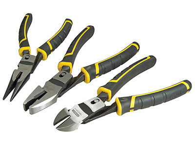 Stanley Tools  - FatMax Compound Action Pliers Set of 3 - 72415