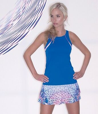 Lucky In Love  Women's Tennis Top Ct175-405  Nwt