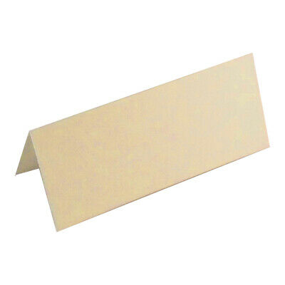 100 Wedding Table Place Name Cards , Smooth Cream/Ivory