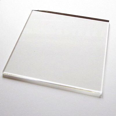 Lightweight Acrylic Stamping Block, MANY SIZES. Clear. Stamp. By UK Card Crafts