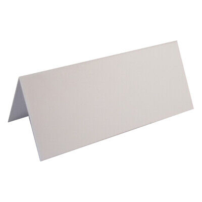 100 Wedding Table Place Name Cards , Smooth White