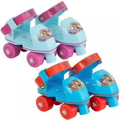 Paw Patrol Beginners Quad Roller Skates Boot Shoes Adjustable Kids Sizes 6-12