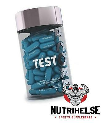 FITNESS AUTHORITY FA Core Test 90 Capsules Anabolic Reactor Testosterone Booster