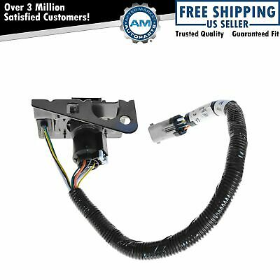 ford 4 7 pin trailer tow wiring harness w plug bracket for ford 4 7 pin trailer tow wiring harness w plug bracket for f250