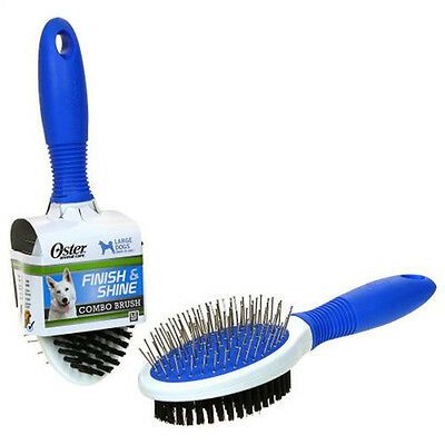 Oster Pet/Dog Grooming Combo Brush,Finish Comb for All Coats,Large Dogs,New