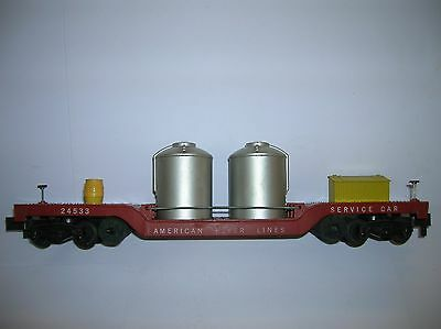 American Flyer # 24533  Track Cleaning Car used no box lot # 4855