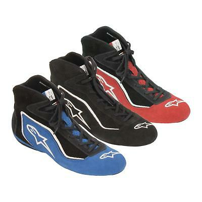Alpinestars 2015 SP Midtop Leather Shoes, Red, 10.5