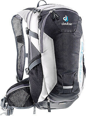 Deuter Compact Exp 12 Black/White Enduro Offroad 3L Hydration System Back Pack