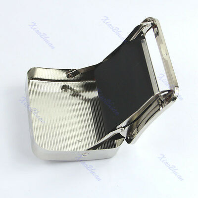 Handy Metal Cigarette Tobacco Roll Roller Rolling Machine Box Case Cover Gift