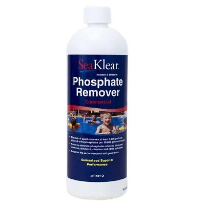 Seaklear 1040105 Phosphate Remover Commercial QT