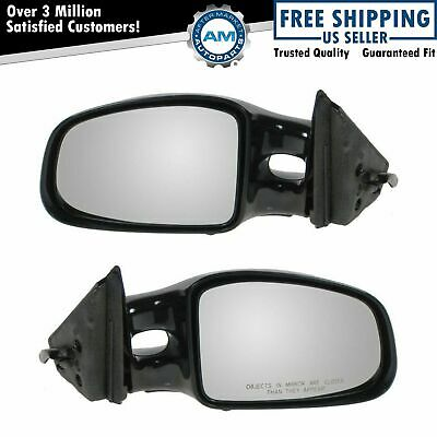 Power Side Mirrors Pair Set Left LH & Right RH for 97-03 Pontiac Grand Prix