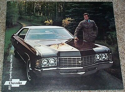 1971 Chevrolet FS Sales Brochure Caprice/Impala/Bel Air