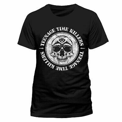 Teenage Time Killers 'Skull' T-Shirt - NEW & OFFICIAL!