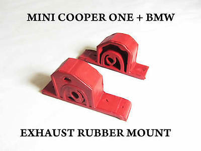 Bmw Mini Cooper One Exhaust Rubber Mount Hanger Silencer Heavy Duty New Clamp