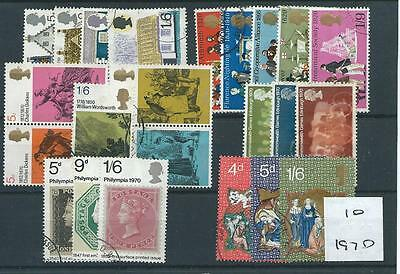 wbc. - GB COMMEMS - 1970 - six complete sets - FINE  USED