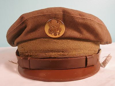 Vintage WWII USAAF Crush Cap, Size 6 7/8