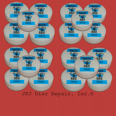 20 Original White Buffing Pad For Jfj Single/double