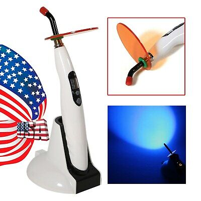 Dental Wireless LED Curing Light Lamp 1400mw LED-B Woodpecker Style US Stock