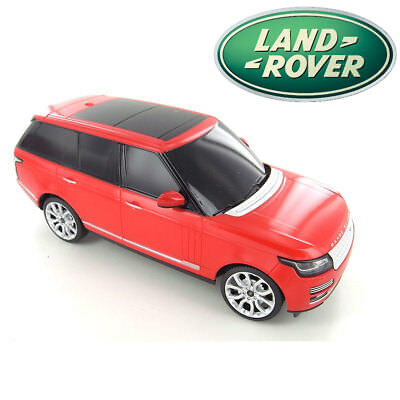 Official Licensed 1:24 Scale Land Rover Range Rover Autobiography Red Toy Car