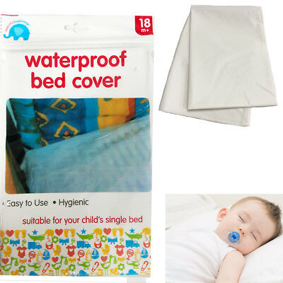 Child Bed Cover Waterproof Baby Cot Single Bed Cot Hygienic Sheet Wetting Proof